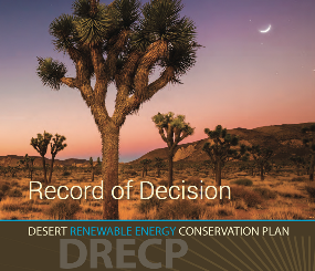 Final DRECP Land Use Plan Amendment and Record of Decision
