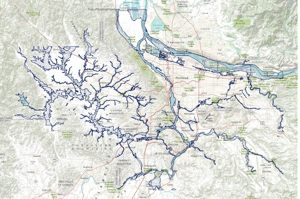 Floodplains Map on