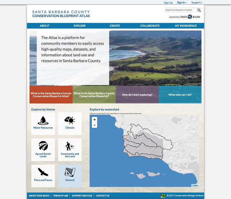 SB Atlas Homepage
