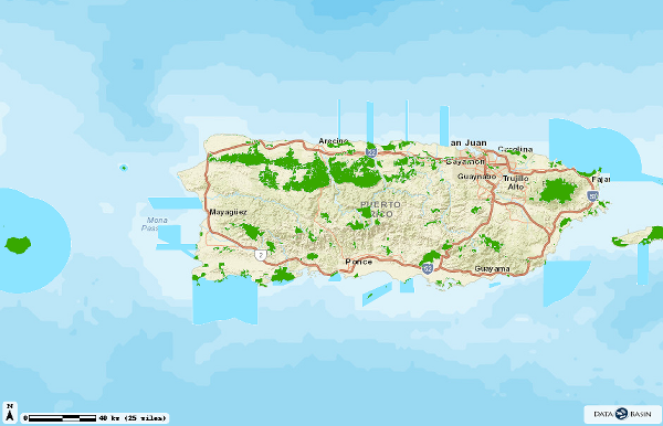 Collaboration Updates Puerto Rico's Protected Areas Map and Inventory Thumbnail