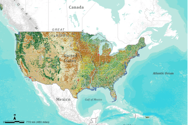 National Land Cover Database (NLCD 2001) superzones