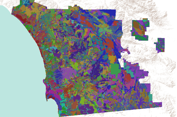 Soil Survey Geographic (SSURGO) database for San Diego County ...