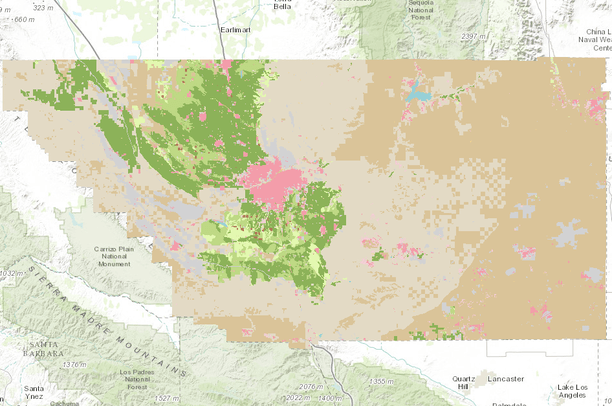 Kern County Map Of Mountains on map of tehachapi mountains, map of san gabriel mountains, map of sierra madre mountains, map of los gatos mountains, map of southern california mountains,