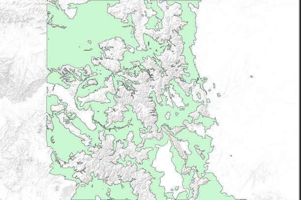Elk Winter Range, Colorado   Data Basin