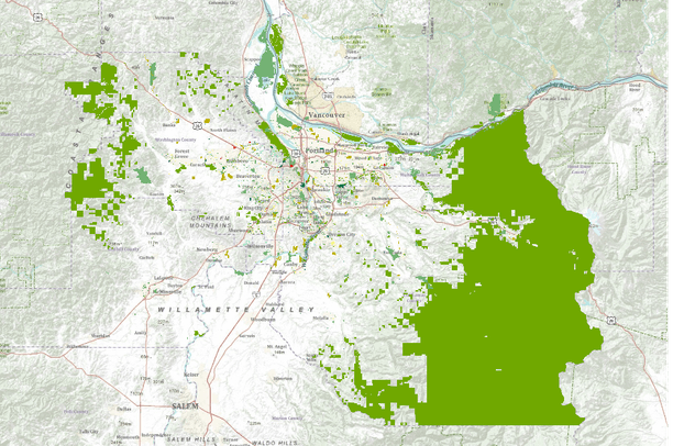 Parks And Greenspaces Of The Portland Metro Region Oregon Data Basin