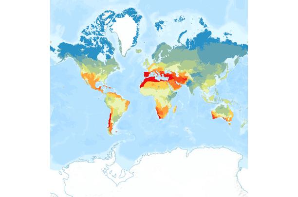 Precipitation Change By 2050 By Terrestrial Ecoregion Data Basin