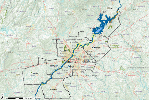 Chattahoochee River Recreation Access   Needs and Opportunities