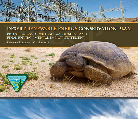 Desert Renewable Energy Conservation Plan: BLM Proposed Land Use Plan Amendment and Final Environmental Impact Statement