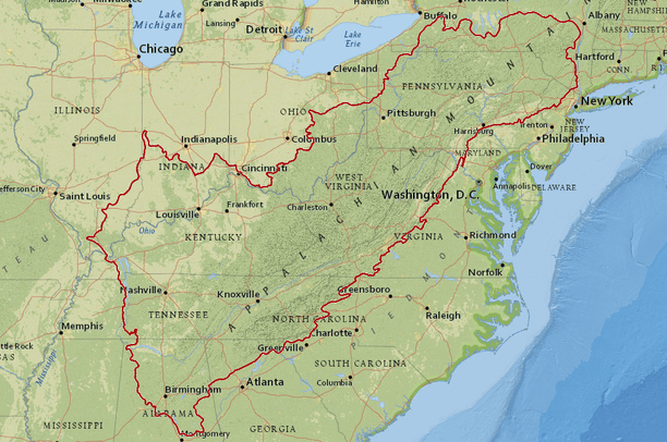 Appalachian LCC Boundary Overview
