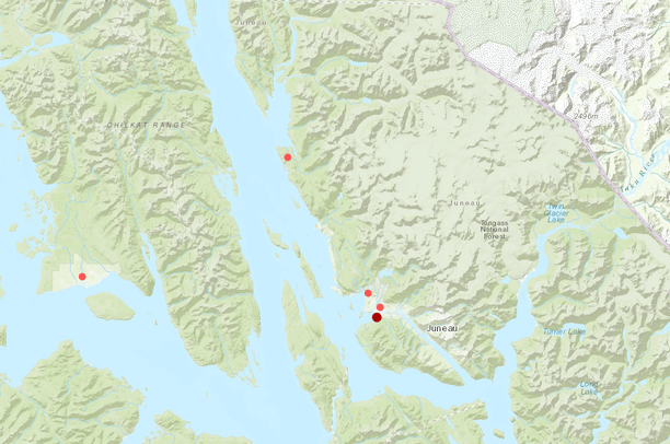 Southeast Alaska Myotis Bats | Data Basin