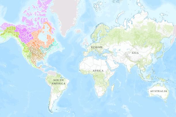 North American Watersheds Data Basin