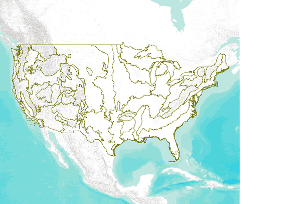 United States Forest Service Ecological Subregions of the U.S.A ...