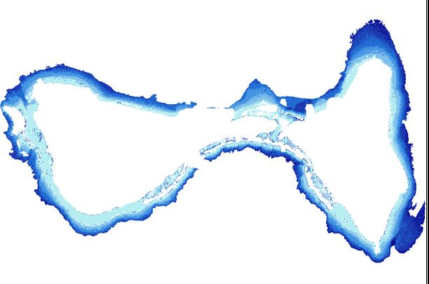 American Samoa Bathymetry