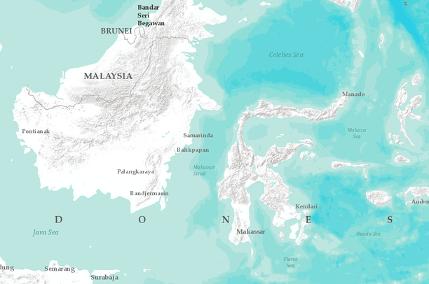 peta kalimantan sulawesi | Data Basin