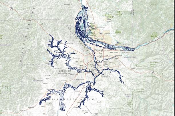 February 1996 Flood with Metro Goal 5 Updates Portland Metro