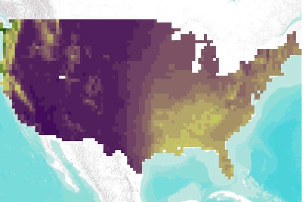 Climate data for the conterminous USA (VEMAP)