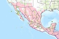 American Crocodile Historic Range | Data Basin on toucan map, alligator range map, mosasaur map, american alligator map, shark map, brown hyena map, hippo map, emperor penguin map, hamster map, spectacled caiman map, cockroach map, crocodilian map, turtle map, deer map, cheetah map, boar map, striped hyena map, serval map, gopher map, water monitor map,