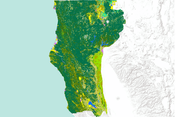 California Land use / Land cover