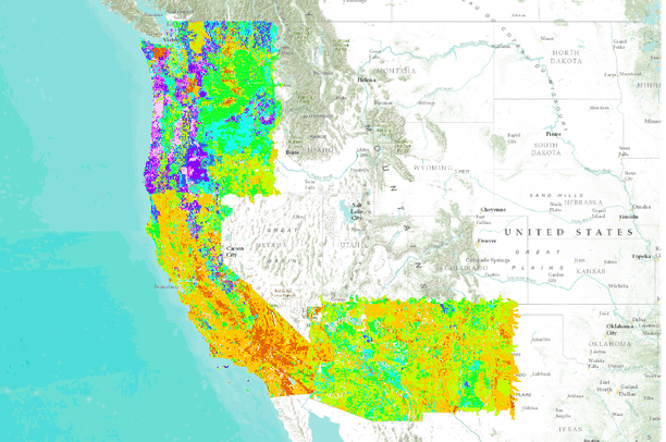 soil bulk density for washington oregon california arizona and new mexico usa data basin. Black Bedroom Furniture Sets. Home Design Ideas