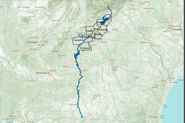 Chattahoochee River   Recreation Access | Data Basin