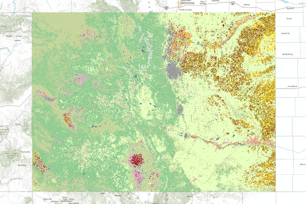 Cropland Data Layer of the USA