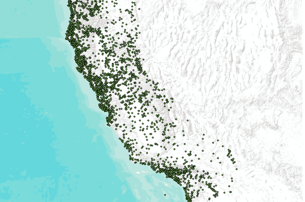 California Natural Resource Project Inventory Nrpi Data Basin