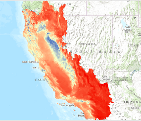 Climate and Hydrology Change Over Time: 2014 California BCM Deltas