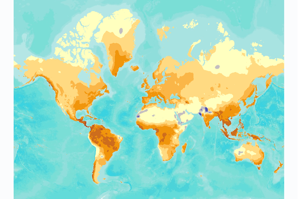 World Climate Change Projections