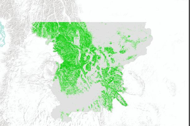 National Land Cover Database (NLCD 2001) superzones